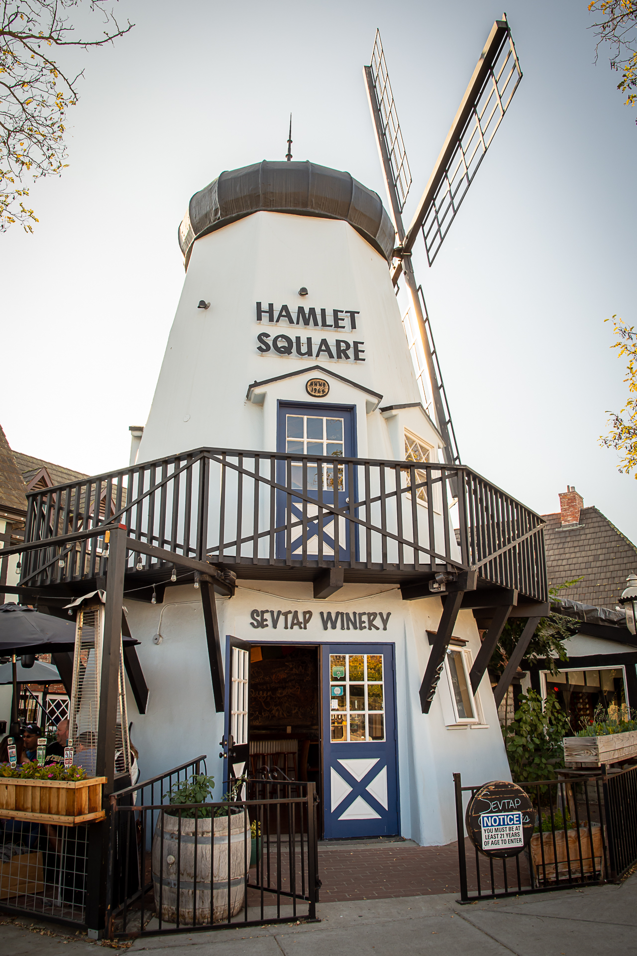 Solvang Windmill Wine Walk