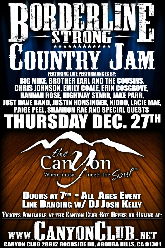 Borderline Strong Country Jam