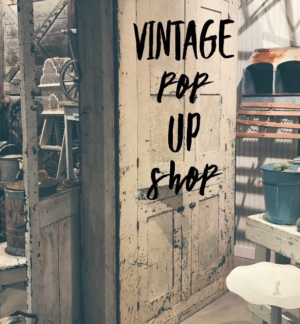 Vintage Pop Up Shop