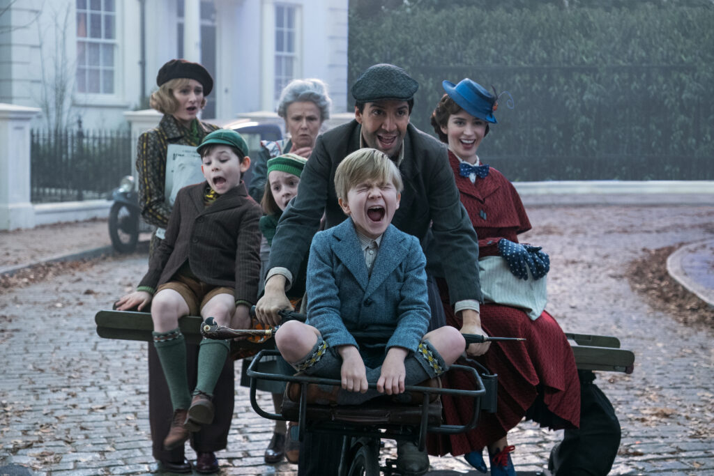 Mary Poppins Returns with Nostalgic Perfection