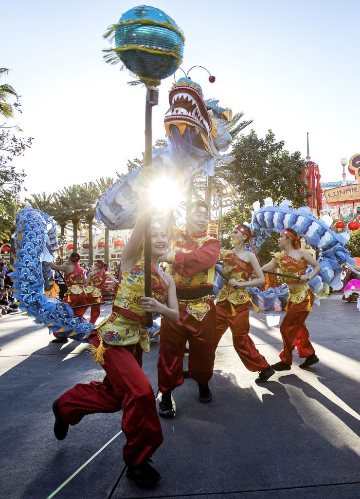 Disneyland Resort Celebrates Lunar New Year with a Touch of Disney Magic
