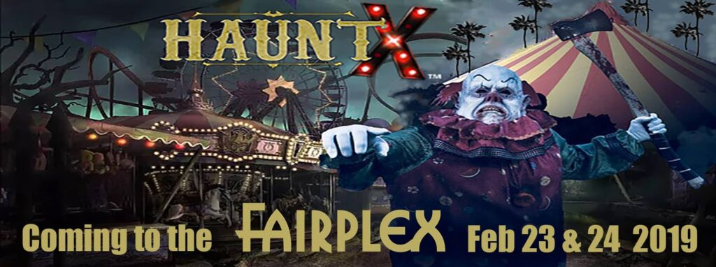 HauntX Halloween and Haunter's Expo