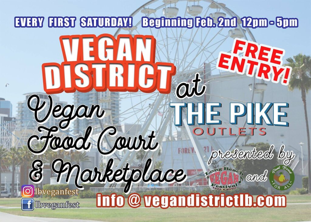 Vegan District at the Pike