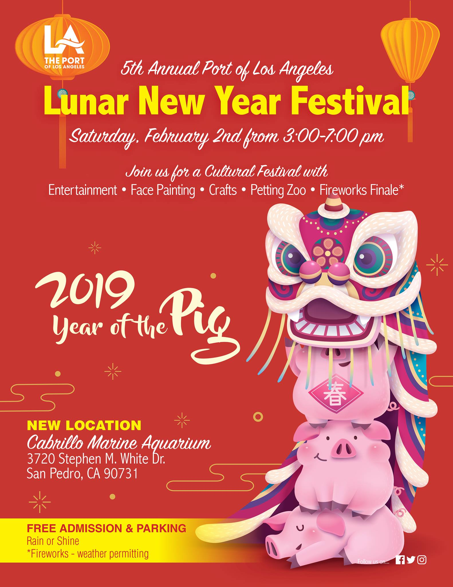 2019 Port of Los Angeles Lunar New Year Festival