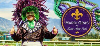 Mardi Gras at Santa Anita Park