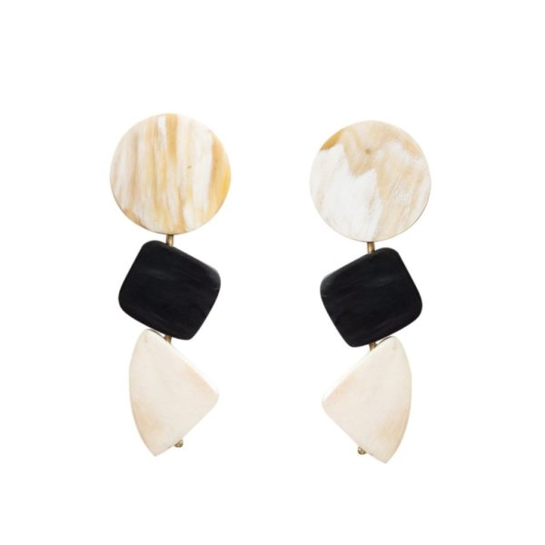 Trio Geo Earrings