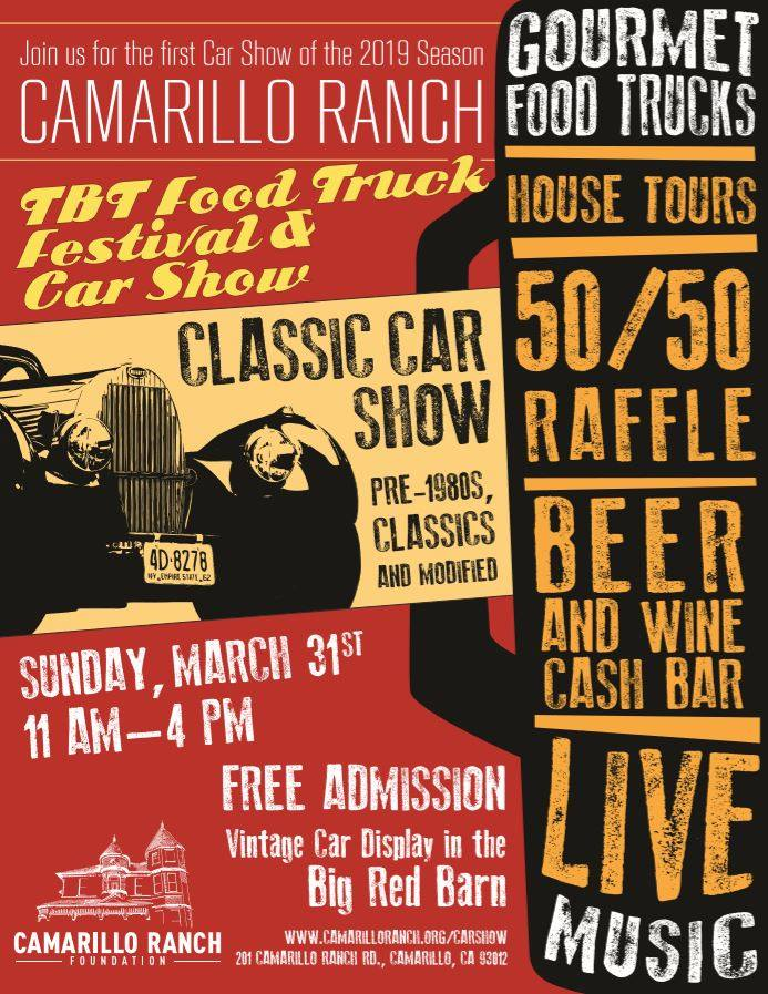 Camarillo Ranch Car Show and Food Truck Rally