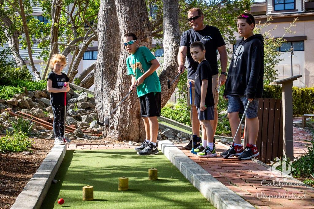 Catalina Island's Golf Gardens