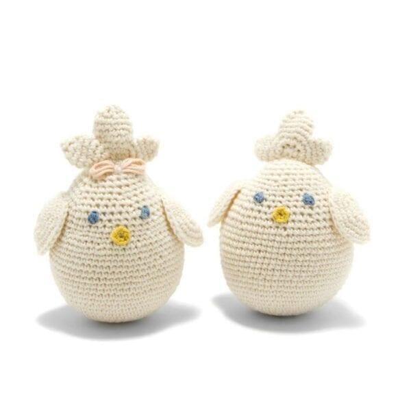 Organic Cotton Chick Toy