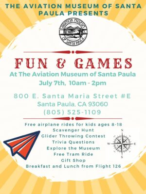 First Sunday at the Aviation Museum of Santa Paula