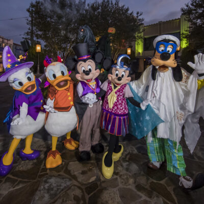 Disneyland Resort Celebrates the Halloween Season with Happy Hauntings at Both Disneyland and Disney California Adventure Parks
