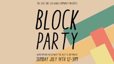 Summer Block Party