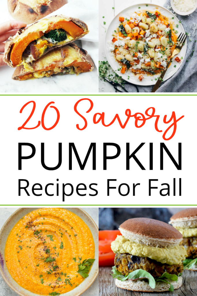 Save your pumpkin spice latte for later and explore how pumpkin can be seasoned with herbs and spices to create amazing savory dishes such as soups, sauces, and pasta. - 20 Savory Pumpkin Recipes to Try This Fall
